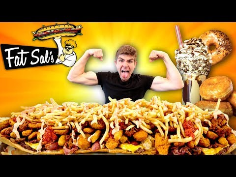 FAT SAL'S DELI 14LB BIG FAT FATTY SANDWICH CHALLENGE