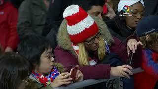 Calentamiento Atlético de Madrid vs C.A. Osasuna