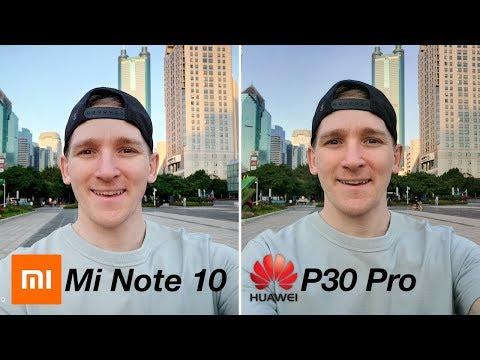 Xiaomi Mi Note 10 vs Huawei P30 Pro CAMERA TEST