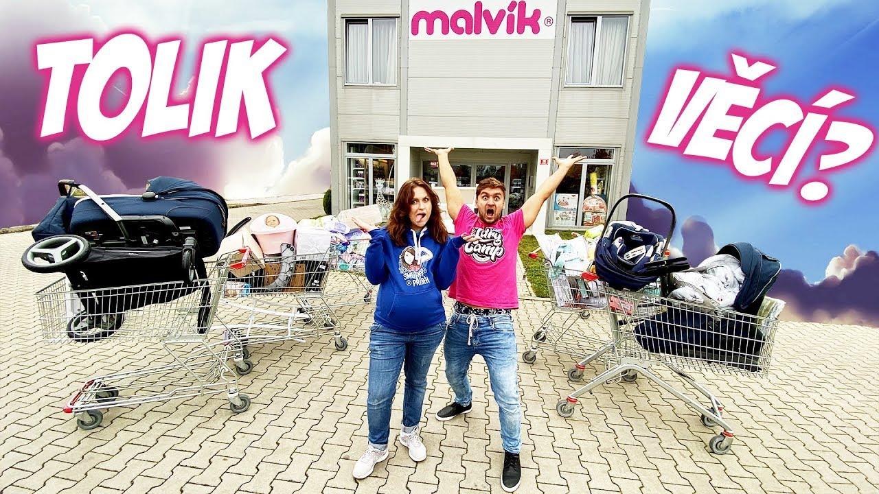 Šílené nákupy vybavení pro Miminko! w/ Stáňa