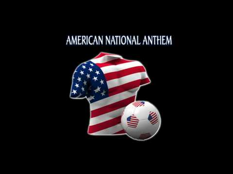 Star Spangled Banner American National Anthem USA World Cup 2010 South Africa Soccer Football