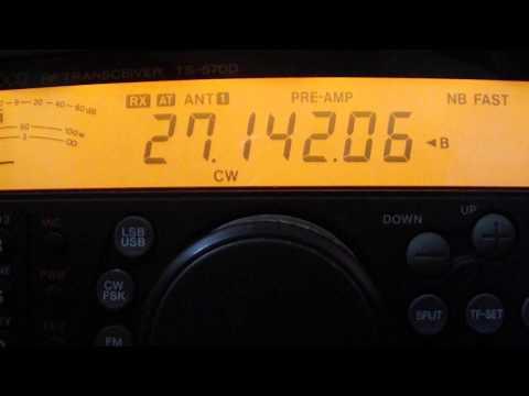 LNB pll sr322 + TCXO 27mhz RAIN SCATTER HB9BBD - YouTube