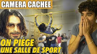 THE STREET WORKOUT WORLD CHAMPION PRANK A GYM !