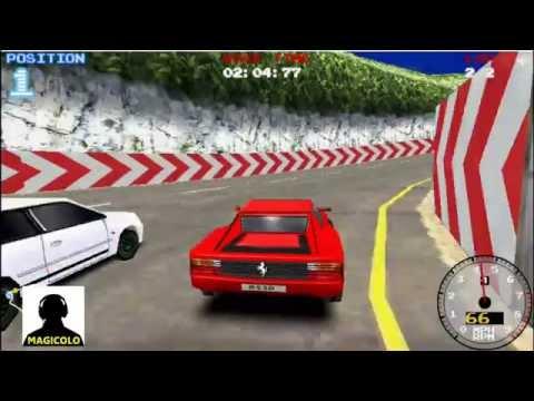 Y8 Super Drift 2 gameplay with Ferrari Testarossa