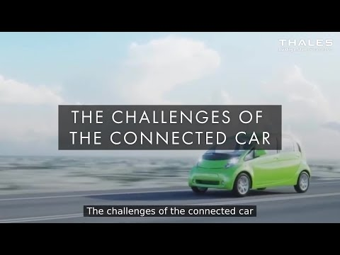 The challenges of the connected car -Thales