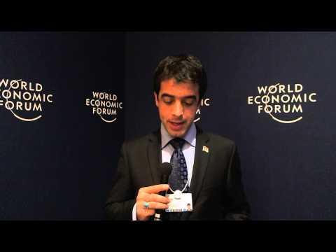 Ahmad Shakir Azizi - World Economic Forum on India 2012 social media corner