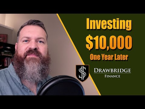 Investing $10,000: 1 year later portfolio review