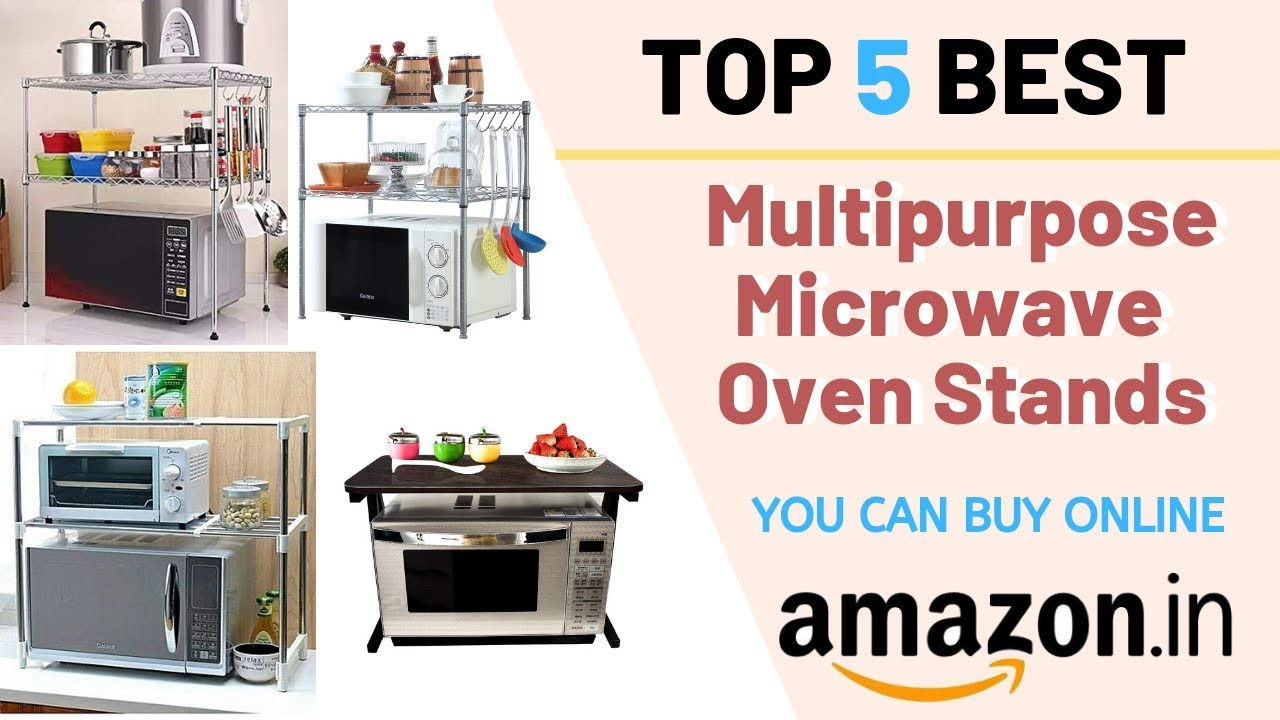 Best 5 Microwave Oven Shelf Rack Stand You Can Buy Online in India I  MULTIPURPOSE Stand For Kitchen