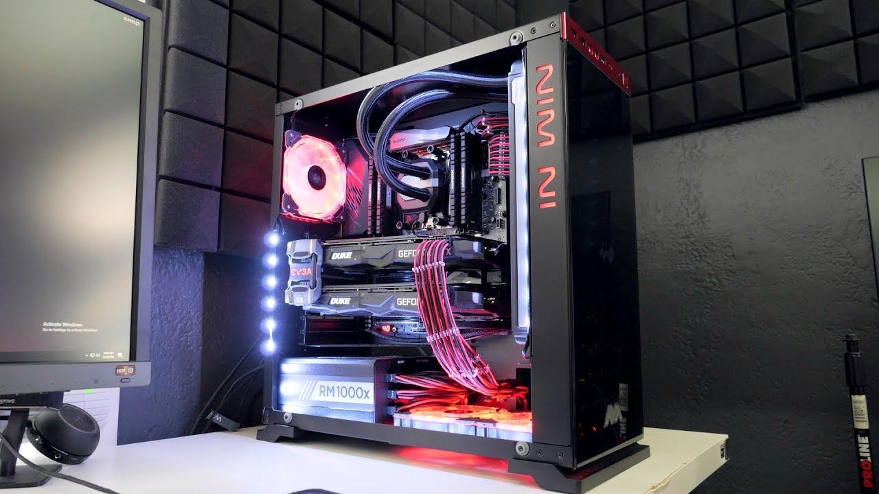 AMD Ryzen™ Threadripper™, X399 Chipset, 2-way SLI® / CrossFireX™ Extreme  Gaming PC