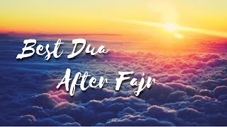 Best Dua After Fajr | Simple Dua With Immense Reward | Mufti Menk thumbnail