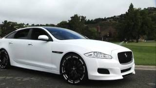 Jaguar XJ75 Platinum Design Concept 2010 Videos