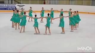 Финал кубка России по синхронному фигурному катанию Роснефть Арена Сызрань