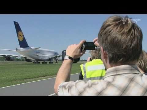 Begeisterung für den Airbus A380 - Hannover Airport TV