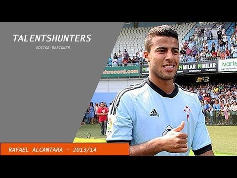 """Rafael Alcantara """"Rafinha""""- Skills, Goals, Assists - Celta Vigo - 2013/2014"""
