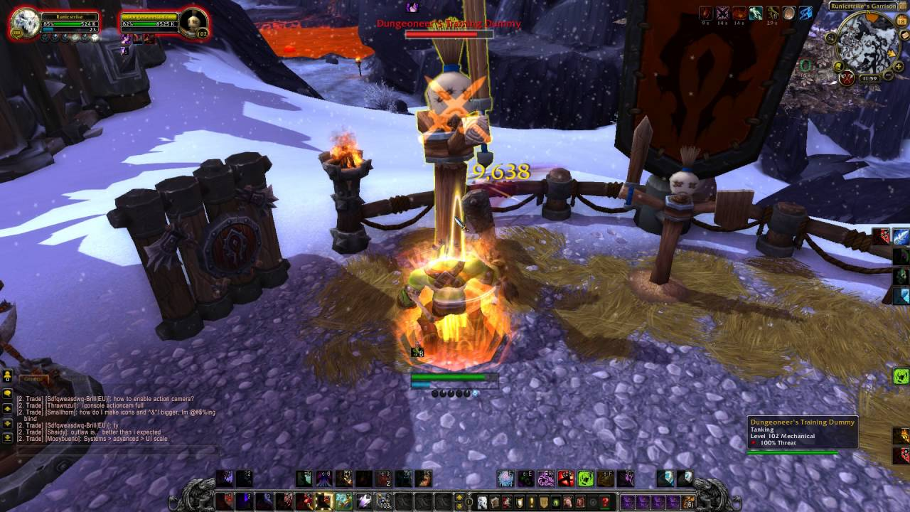 World Of Warcraft Legion Pre Patch Dk Blood Dummy