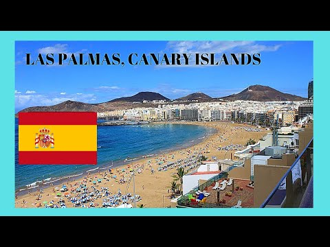 Spectacular LAS PALMAS in GRAN CANARIA, a walking tour (SPAIN)