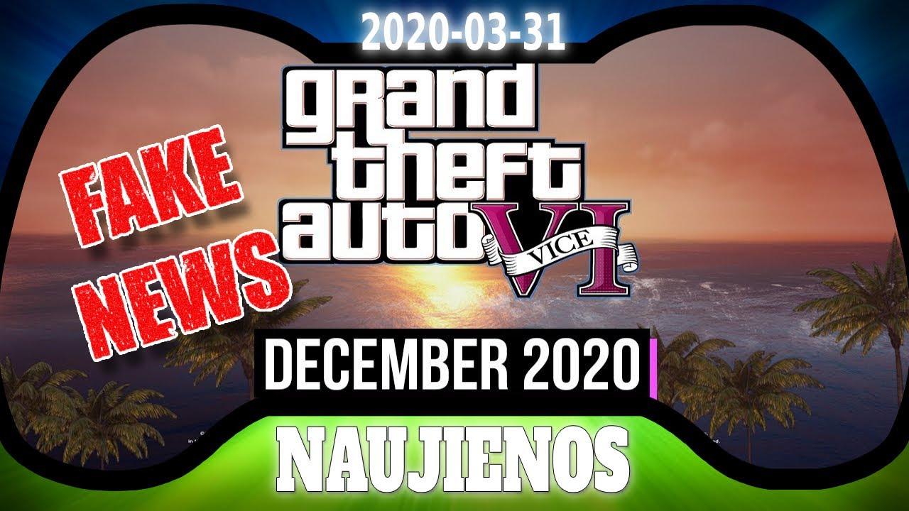 Rockstar apgavo.. Nebus GTA 6! - Naujienos 2020-03-31