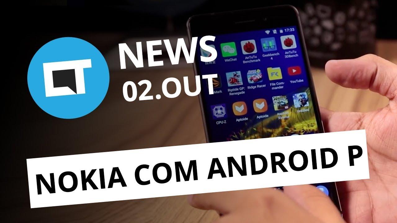 59afcb5caf3 Nova versão do PlayStation VR;Aparelhos da Nokia vão receber Android P [CT  News] - Vídeos - Canaltech