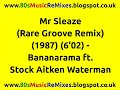 watch he video of Mr Sleaze (Rare Groove Remix) - Bananarama | 80s Club Mixes | 80s Club Music | 80s Dance Music