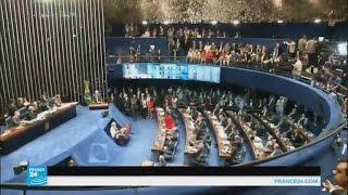 تصويت تاريخي لأعضاء مجلس الشيوخ البرازيلي حول إقالة روسيف