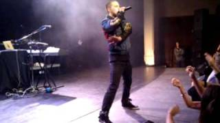 Mike Posner and Big Sean - Speed of Sound (Live @ CMU)