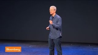 Apple CEO Tim Cook Unveils iPhone 6 and 6 Plus