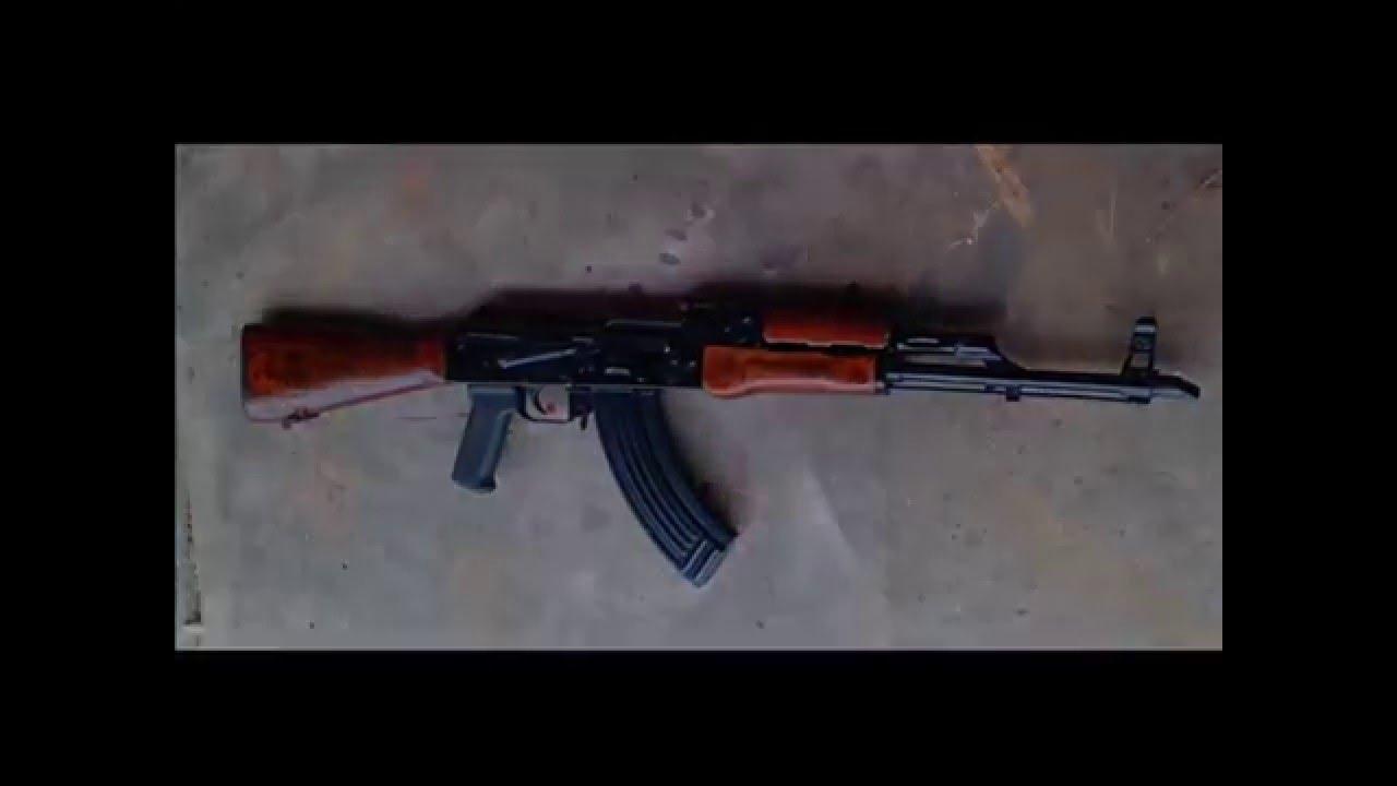 Red Army Standard Ras47 Ak 47 Rifle W/ Moe Zhukov Magpul