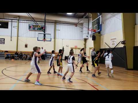 2020-01-05 Girls Monroe Falcons (4-5th Gr, Coach Jamie Costa Rowe) Vs S.Brunswick   OVERTIME