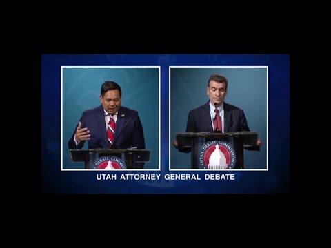 Full Debate: Greg Skordas, Sean Reyes square-off in Utah Attorney General Debate