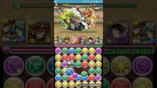 puzzle and dragons challenge dungeon 8 with awoken dqxq