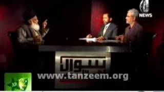 (4/4) Aaj News Interview with Dr. Israr Ahmed