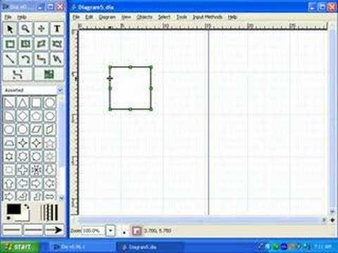 Introduction to Diagrams with Dia - YouTube