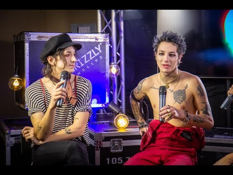 PALAYE ROYALE on future of the band, meeting Dave Grohl and comic book/album [POINTFEST 2019]