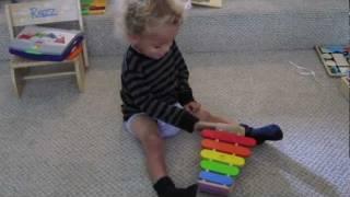 Kid Groovadelic -- Plan Toy Xylophone Jam