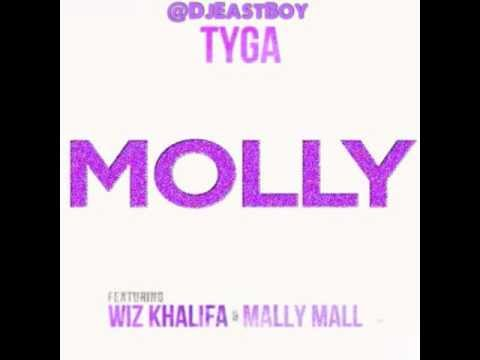 Tyga ft Wiz Khalifa and Mally Mall - Molly [Chopped & Screwed]