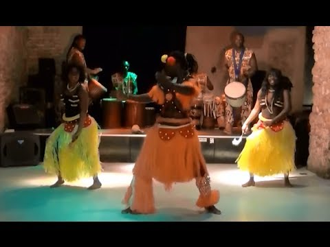 Musica e danza Senegalese - spettacolo itinerante