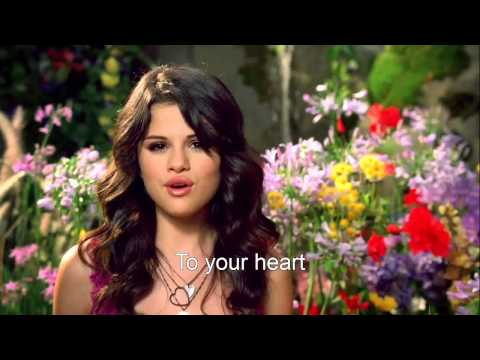 [HD] Selena Gomez - Fly To Your Heart MV [Lyrics On Screen]