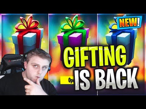 How To Use The NEW GIFTING SYSTEM In Fortnite