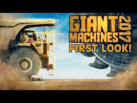 GIANT MACHINES 2017 FIRST LOOK GAMEPLAY!