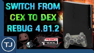 PS3 Switch From CEX To DEX! (For Mod Menus) (REBUG 4.81.2)