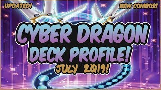 Yu-Gi-Oh! COMPETITIVE In-Depth Cyber Dragon Chaos Deck Profile! INSANE COMBOS!