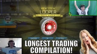 BEST TRADES EVER IN ROCKET LEAGUE! (COMPILATION)
