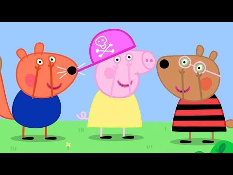Peppa Pig Official Channel   Peppa Pig's Music Party Time With Chloe's Big Friends