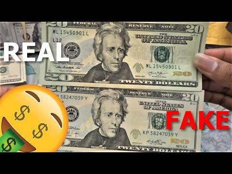 Super Realistic Prop Money $20 Bills from Bonanza (MUST SEE)