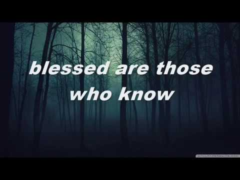Blessed Are Those by SayWeCanFly [lyrics on screen]