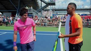 Nick Kyrgios Exposes Rafael Nadal!