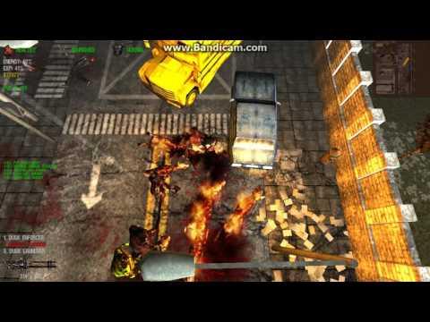 DeadFrontier 3D: uWC vs Flaming Flesh Hound boss (FFH)