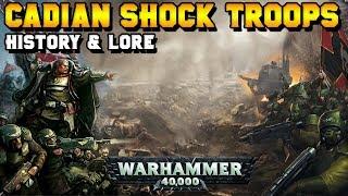 Imperial Guard: Cadian Shock Troops - Lore & History | Warhammer 40,000