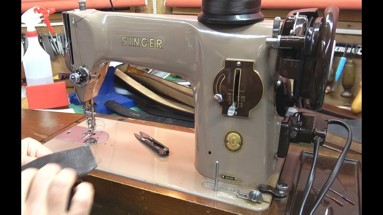 Best Budget Leather Sewing Machine Youtube
