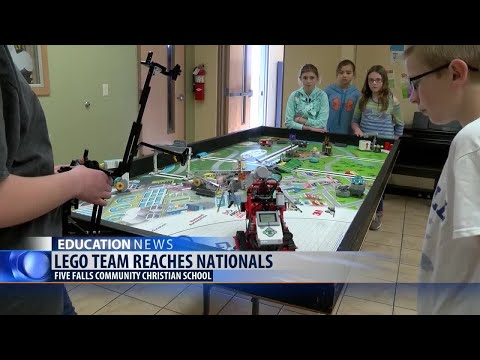 Five Falls Christian School's robotics team headed to nationals